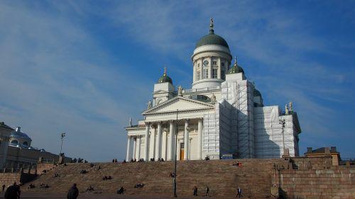 helsinki helsinki cathedral cathedral
