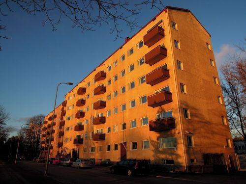 helsinki block of flats merikannontie