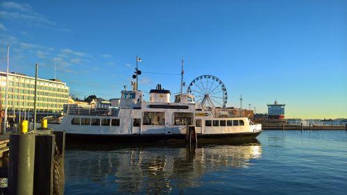 helsinki harbor ferry