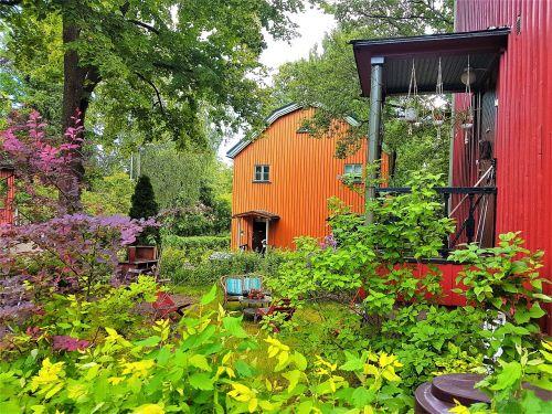 helsinki vacation garden