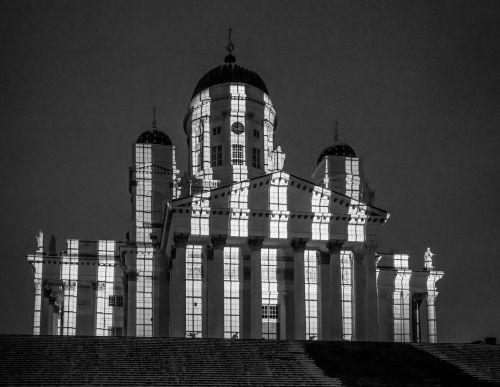 helsinki cathedral lux helsinki shadow dancers