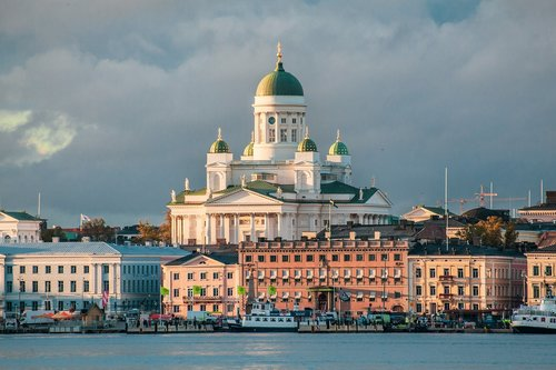 helsinki cathedral  cathedral  church