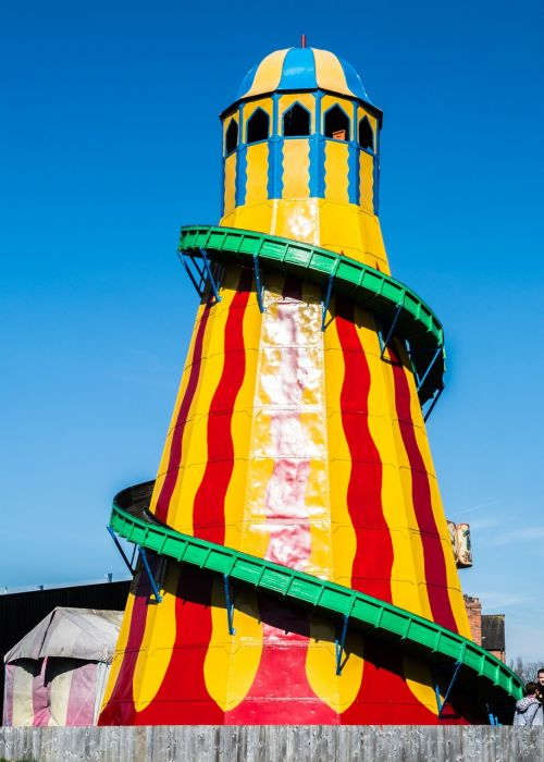 helterskelter fun fair ride