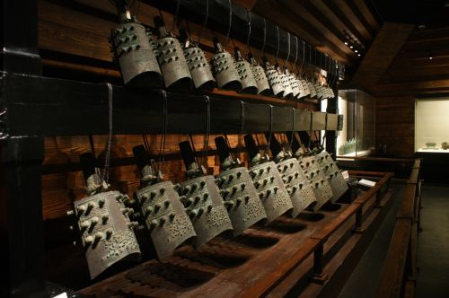 henan museum musical instruments chime bells