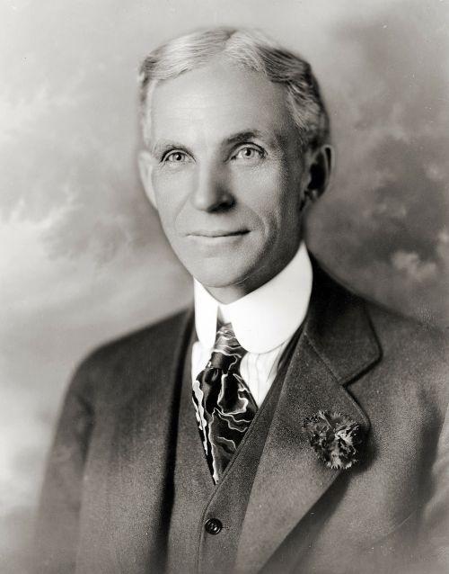 henry ford portrait man