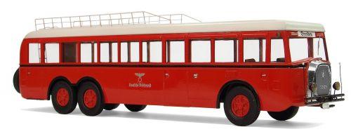 henschel type 35h 3n postal buses