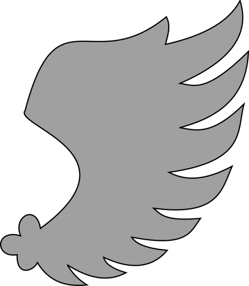 heraldic heraldry wing