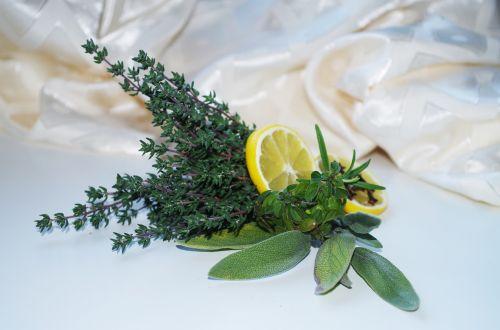 herbs lemon sage