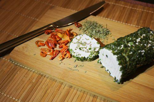 herbs goat cheese cream cheese