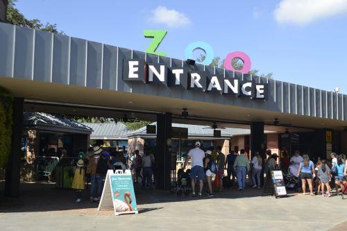 herman park zoo entrance houston