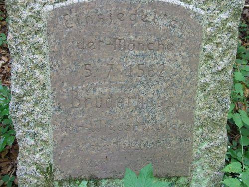 hermit monk memorial stone