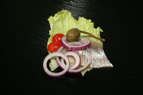 herring marinated herring onion