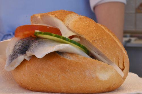 herring herring bread fish bread