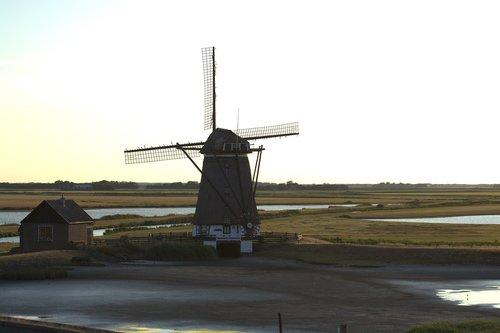 het noorden  mill  north holland