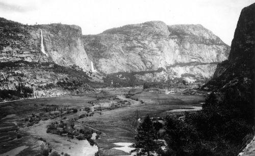 hetch hetchy valley 1900 tuolumne river