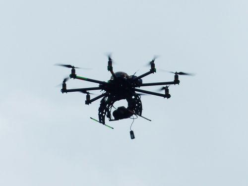 hexacopter helicopter model