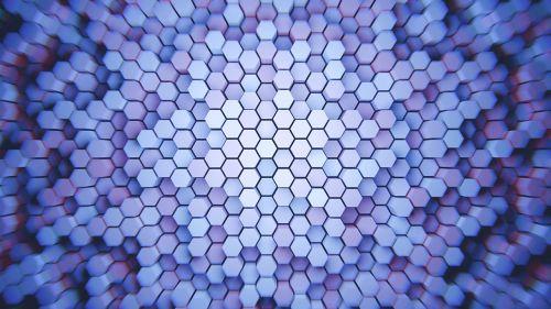 hexagon pattern polygon