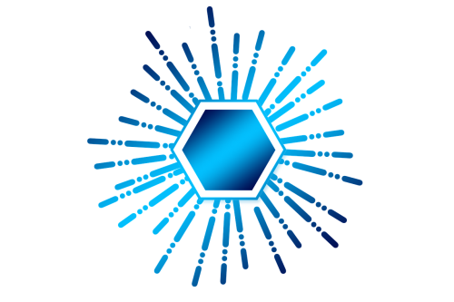 hexagon crowdsourcing icon