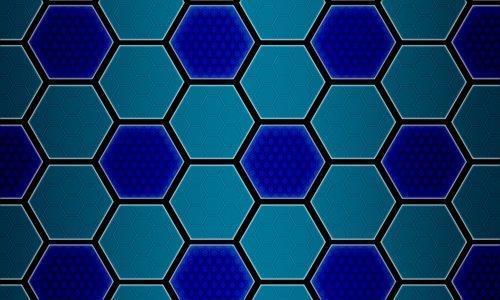 hexagon  background  geometric