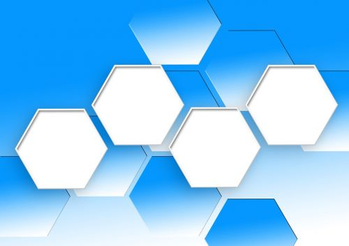 hexagon pattern combs