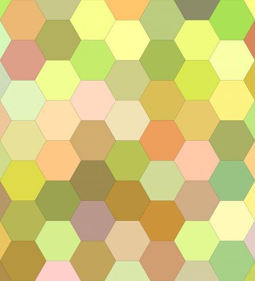 hexagon background hexagon pattern