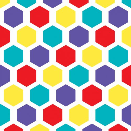 Hexagon Pattern Wallpaper