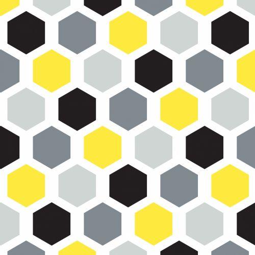 Hexagon Seamless Wallpaper Pattern
