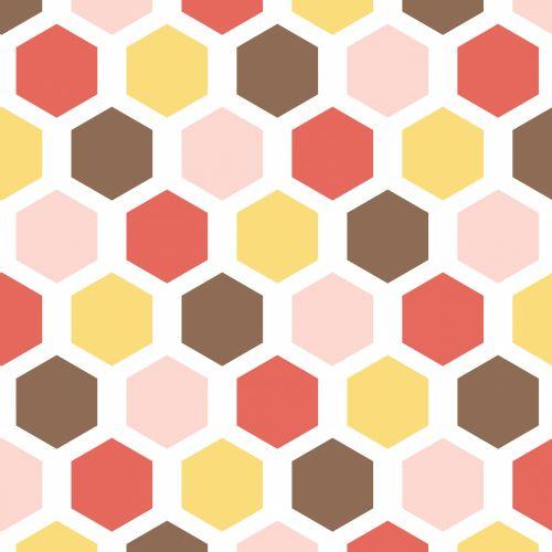 Hexagon Wallpaper Pattern