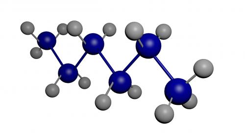 hexane molecule chemistry