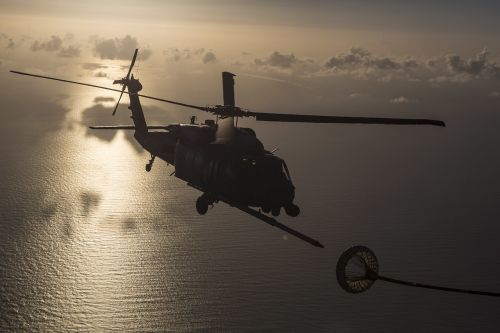 hh-60g pave hawk refueling air force