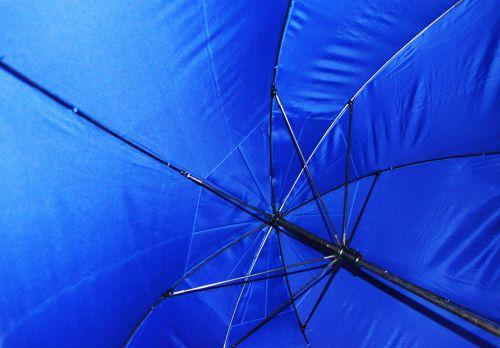Hidden Below The Umbrella
