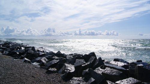 hiddensee west beach windy