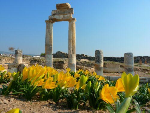 hierapolis pamukkale ruin
