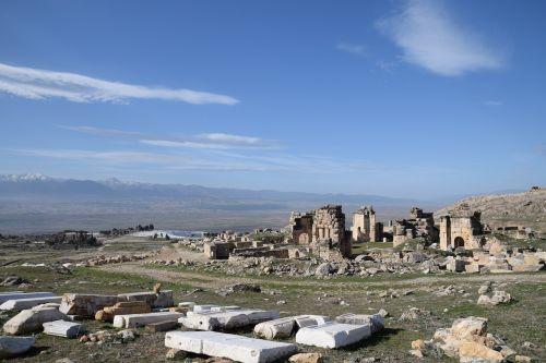 hierapolis of phrygia ruin ancient