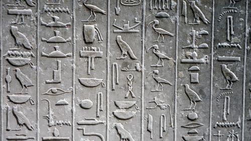 hieroglyph glyphs tomb