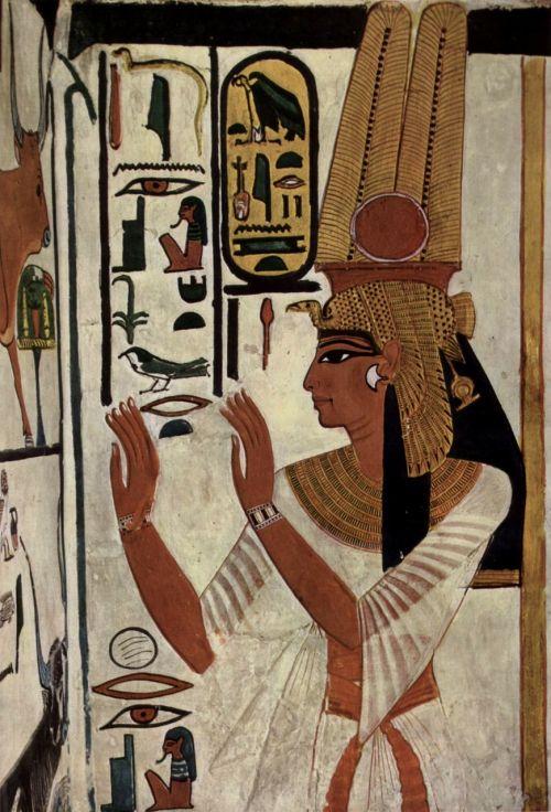 hieroglyphics goddess queen