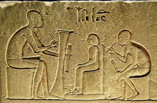 hieroglyphs writing egyptian