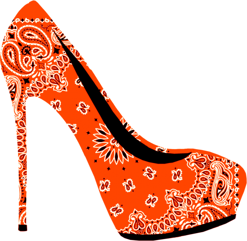 high heel stiletto