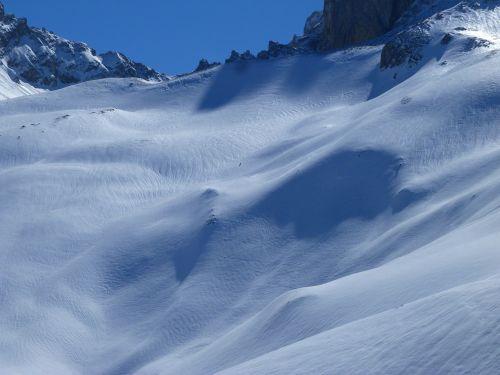 high alps mountain landscape
