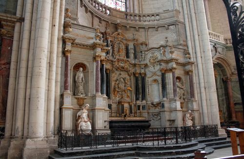 high altar church carvings religious carvings