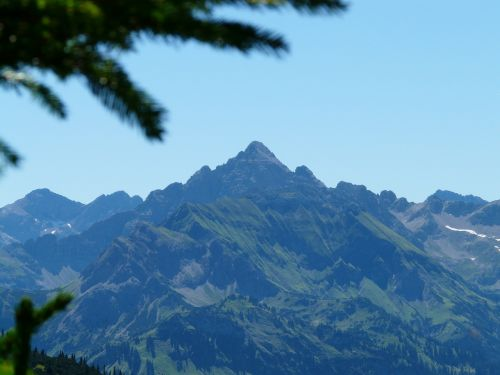 hochvogel mountain allgäu