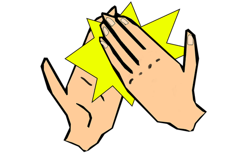 high five  highfive  hands