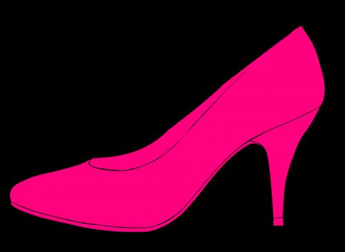 high heels pumps pink