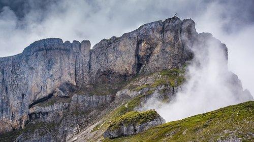 high ifen  kleinwalsertal  alpine
