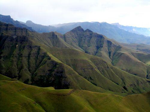 High Mountains, Drakensberg, Kwa-zu