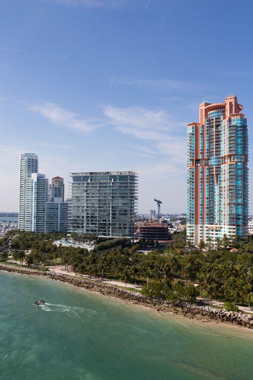 high rise beach city