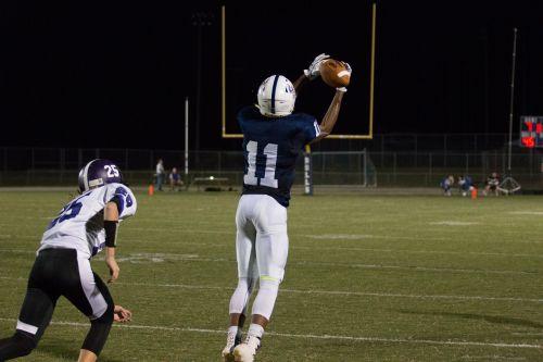 high school football receiver