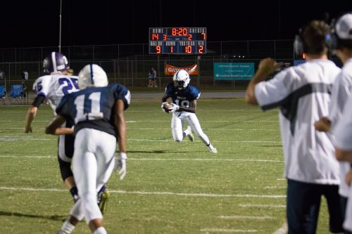 high school football runner