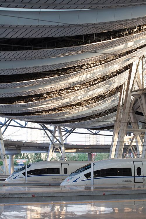 high-speed railway crh hexie