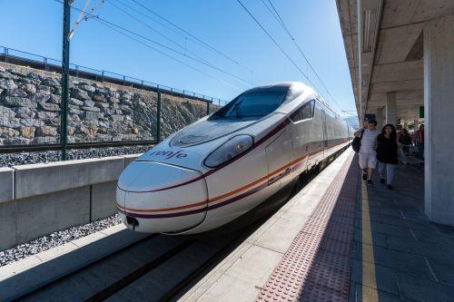 high speed train spain railway